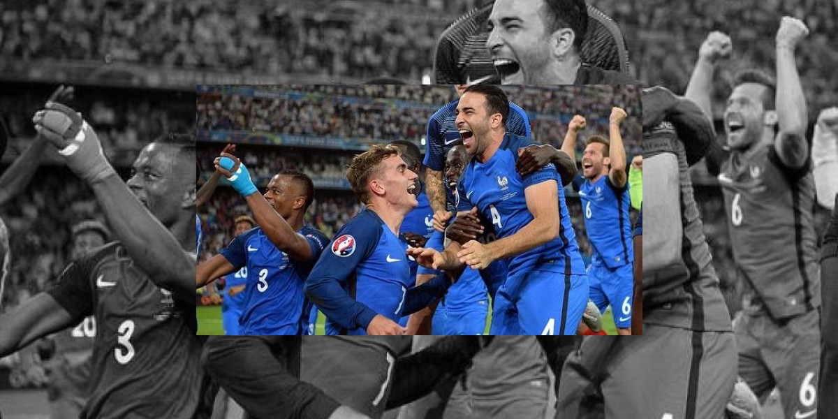 Francia se cita con Portugal en final Eurocopa