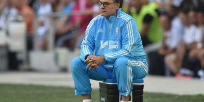 El técnico es conocido por su particular carácter y lo volvió a demostrar con su nueva locura Foto:Getty Images