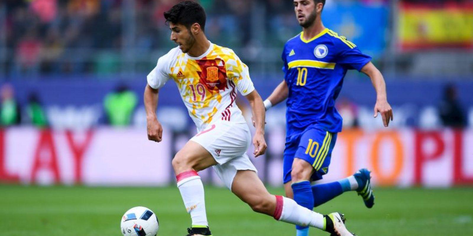 También suma participaciones en las selecciones menores de España Foto:Getty Images