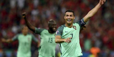 Cristiano Ronaldo apareció en la semifinal y anotó un tanto y se matriculó con una asistencia para la victoria por 2 a 0 Foto:Getty Images