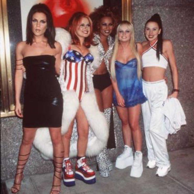"""La banda británica celebra 20 años del lanzamiento de """"Wannabe"""" Foto:Getty Images"""