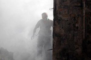 El atentado en el santuario chiita de Balad dejó 50 muertos Foto:AFP