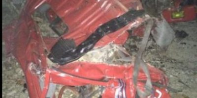 15 Fallecidos y 13 heridos al chocar dos camiones en carretera Sánchez-Nagua