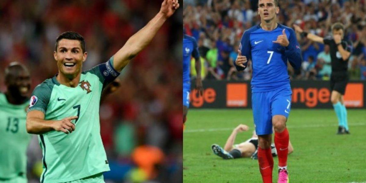 Eurocopa En vivo: Francia vs Portugal final