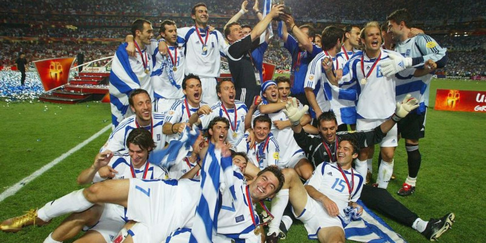 Grecia – 1 título (2004) Foto: Getty Images