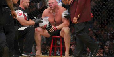 Brock Lesnar regresó con un triunfo a la UFC