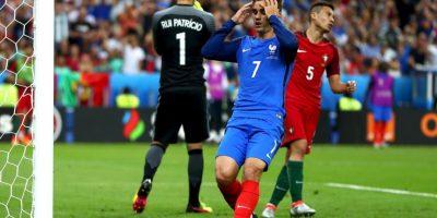 Francia poco pudo hacer ante Portugal en la final Foto:Getty Images