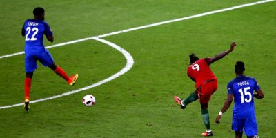 Un tiro de Eder en el alargue le dio la victoria a Portugal ante Francia Foto:Getty Images