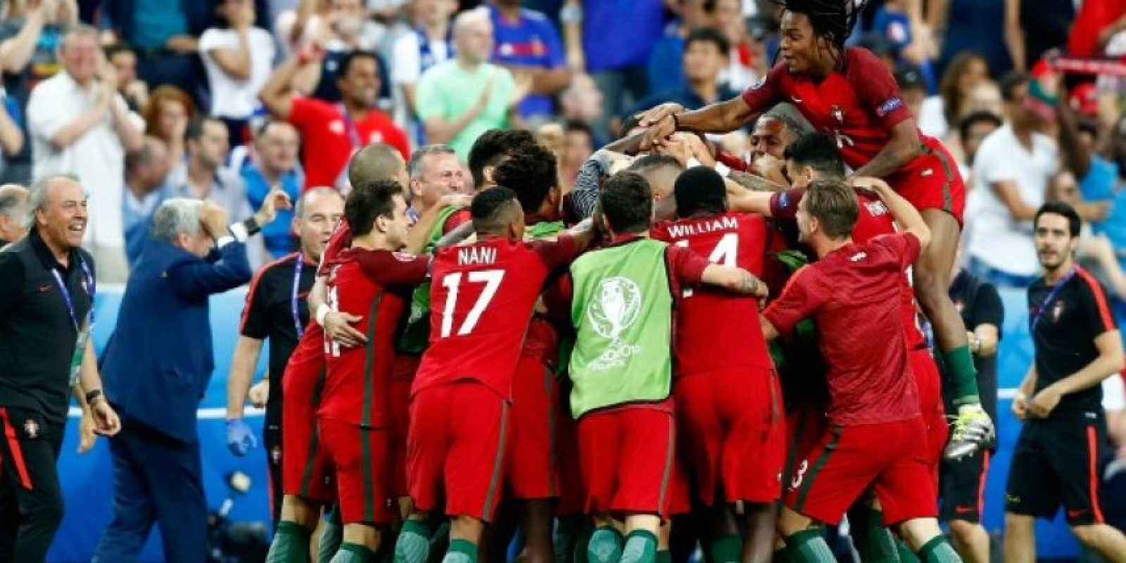 Portugal venció a Francia a domicilio Foto:Getty Images