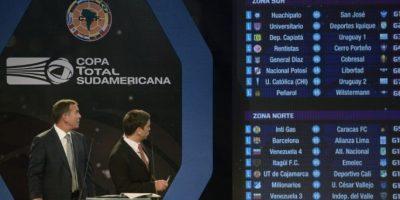 Los clubes fueron divididos en dos zonas según el país al que pertenezcan Foto:AFP