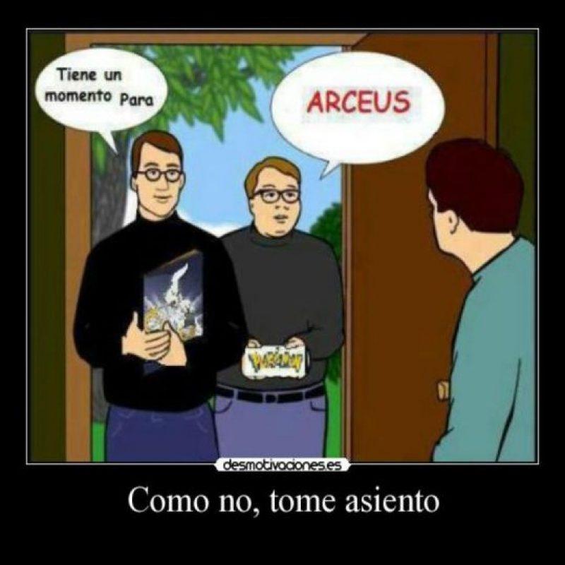 Dios Arceus Foto:Twitter