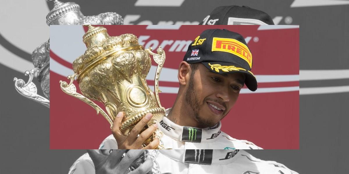 Lewis Hamilton conquista  el GP de Gran Bretaña en la F1