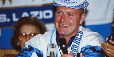 1992: Gascoigne ficha en la Lazio Foto:Getty Images