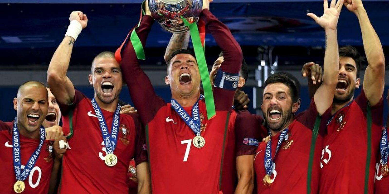 Portugal se lució en Europa y ganó la Eurocopa Foto:Getty Images