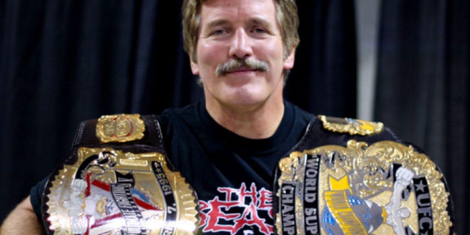 Fue campeón del mundo en dos ocasiones en la NWA de lucha libre y forma parte del Salón de la Fama de la UFC Foto:Twitter