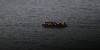 El autor del libro se embarcó en un viaje junto a inmigrantes sirios para poder escribir su libro desde adentro. Foto:cortesía