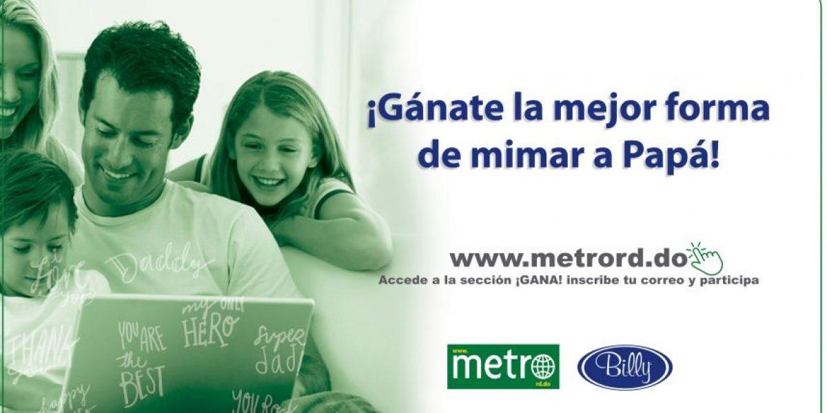 Metro RD mimó a papá en su día