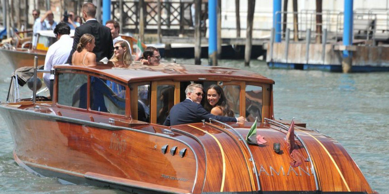 La elegante y romántica boda se realizó en Venecia Foto:AP