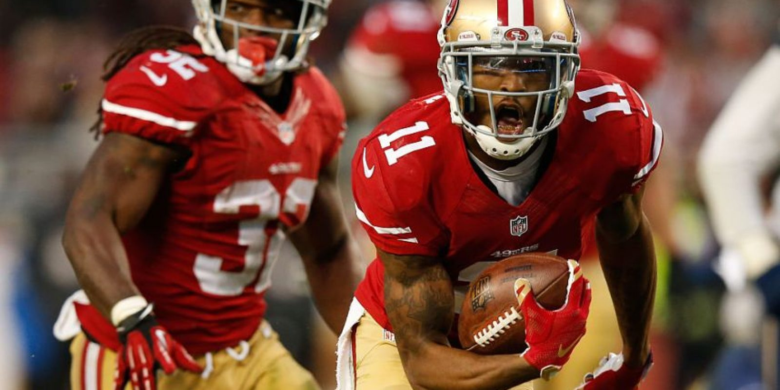 10.- San Francisco 49ers-fútbol americano (2.700) Foto: Getty Images