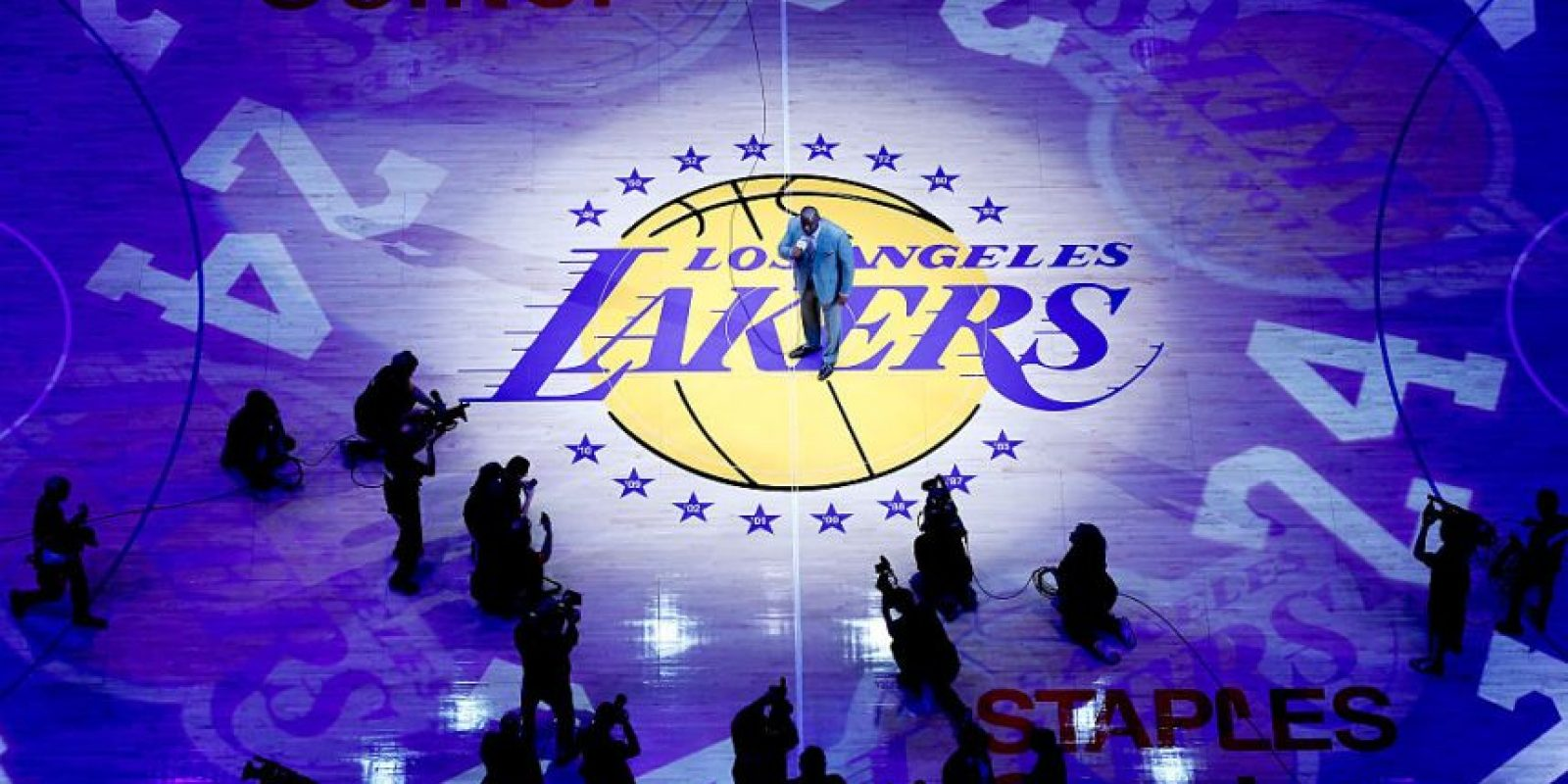 10.- Los Angeles Lakers-básquetbol (2.700) Foto: Getty Images