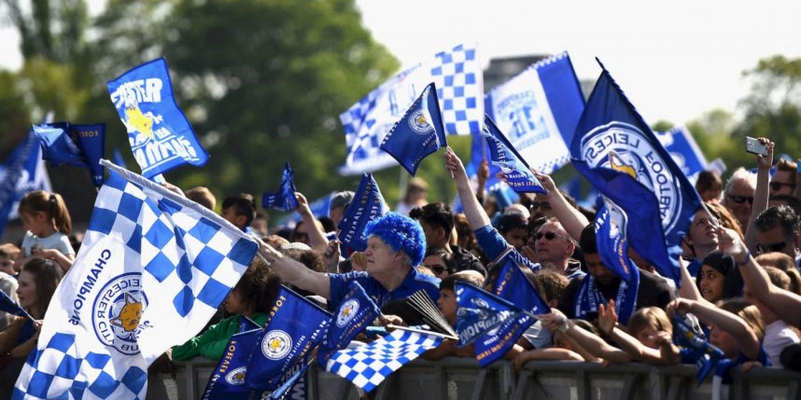 Leicester es campeón de la Premier League Foto:Getty Images