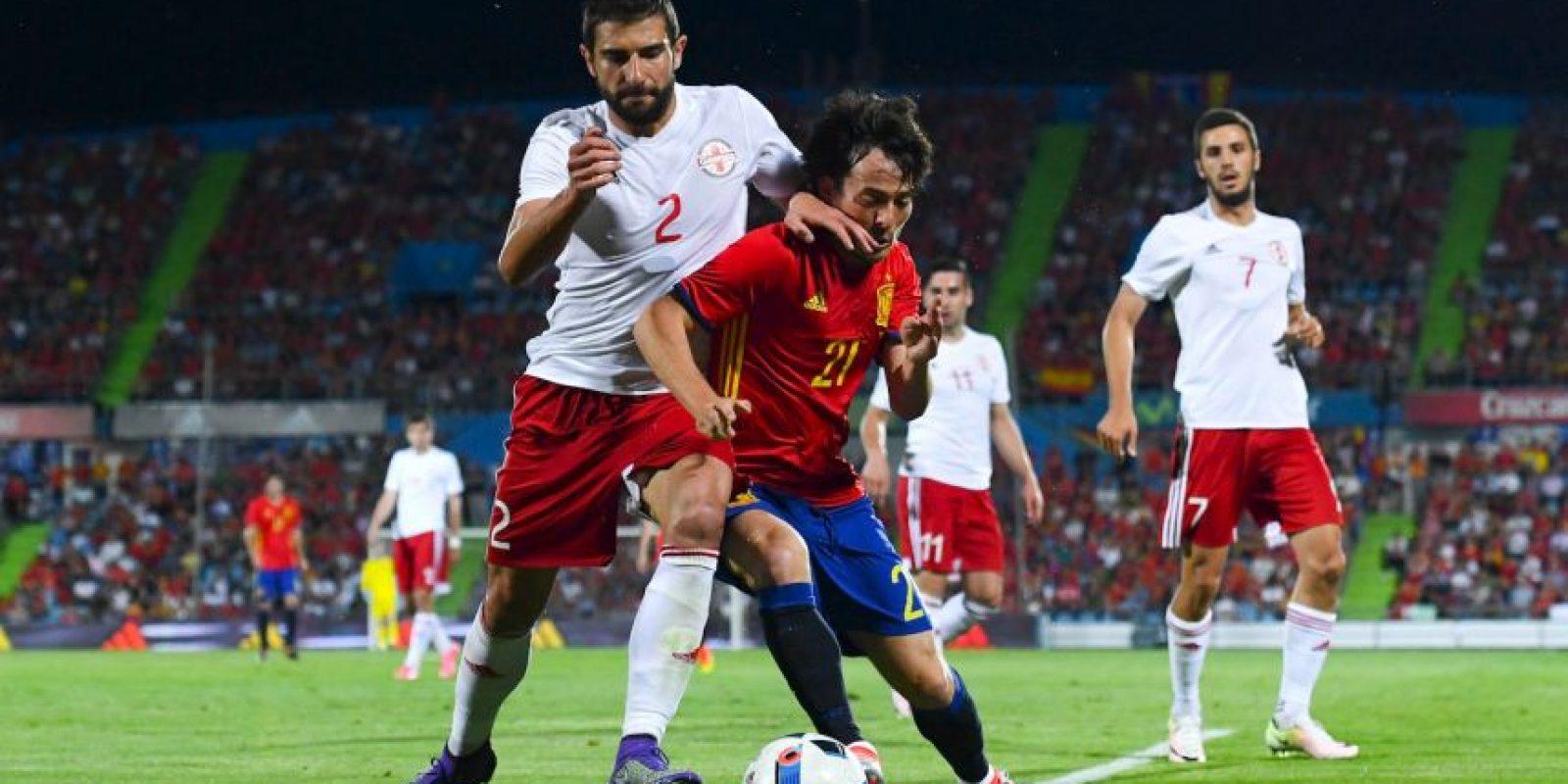 Georgia vence a España en partido amistoso Foto:Getty Images