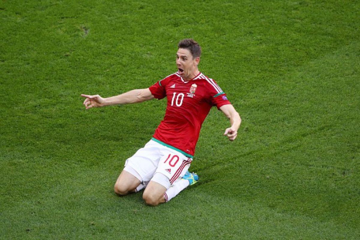 El empate le permitió a los húngaros clasificar en el primer lugar de su grupo, pero quedaron eliminados en octavos de final Foto:Getty Images