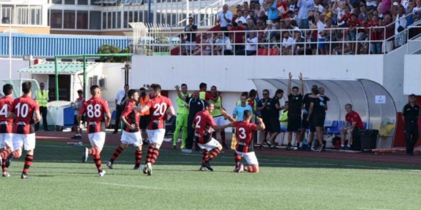 El equipo de Gibraltar vence al Celtic Foto:Twitter