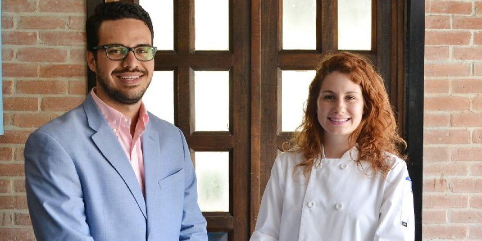 Mario Saviñón y Jessica Casella. Foto:Mario de Peña