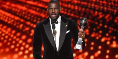 LeBron James y Cleveland Cavaliers triunfan en los premios ESPYS 2016
