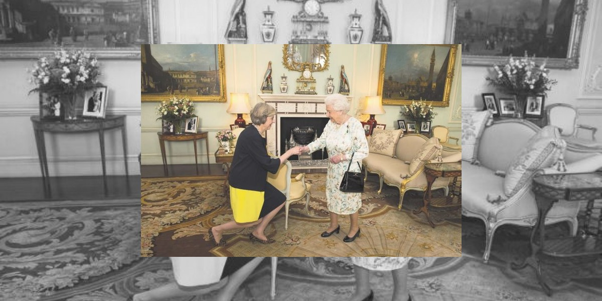 "La Reina Isabel le dio el ""OK"" a May"