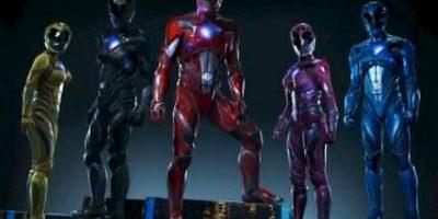 Presentan nuevos pósters de los Power Rangers