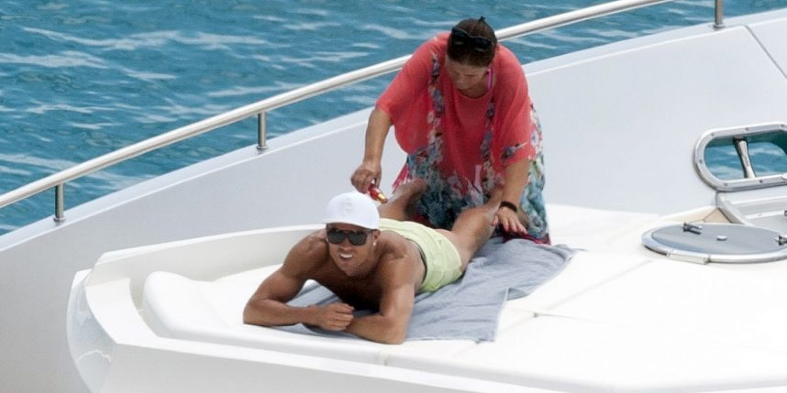 Las vacaciones de Cristiano Ronaldo y su familia Foto:Grosby Group