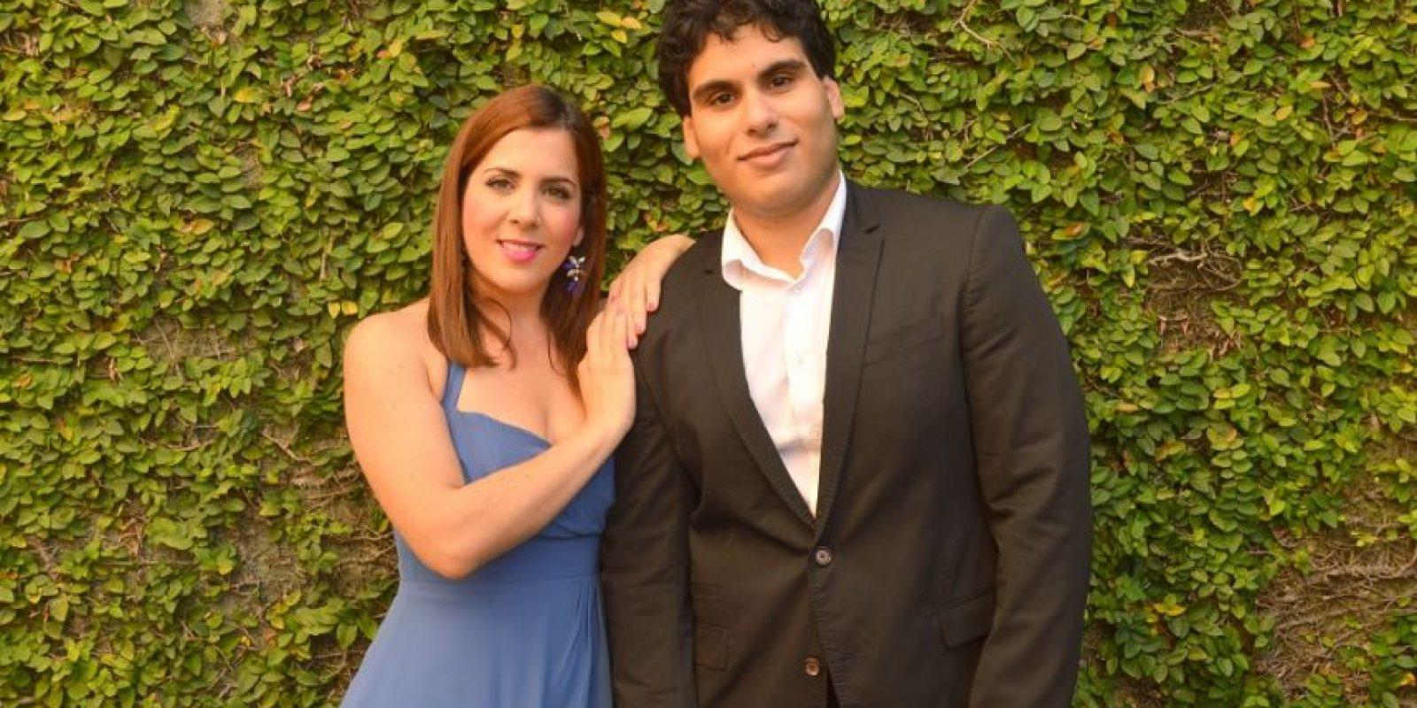 Antonia Chabebe y Milton Fernández participarán en la priemra entrega. Foto:Fuente Externa