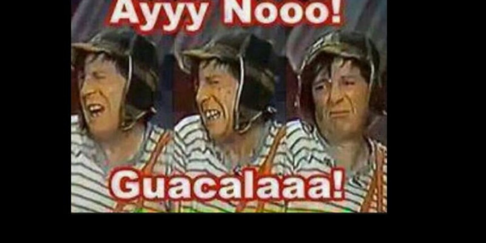 """Este gesto de """"El Chavo"""". Foto:vía Twitter"""
