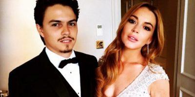 Lindsay Lohan publica foto íntima con su novio en Instagram
