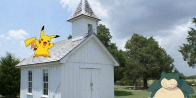 Los Pokémon han aparecido en lugares muy extraños desde que el juego fue lanzado. Foto:Creative Commons