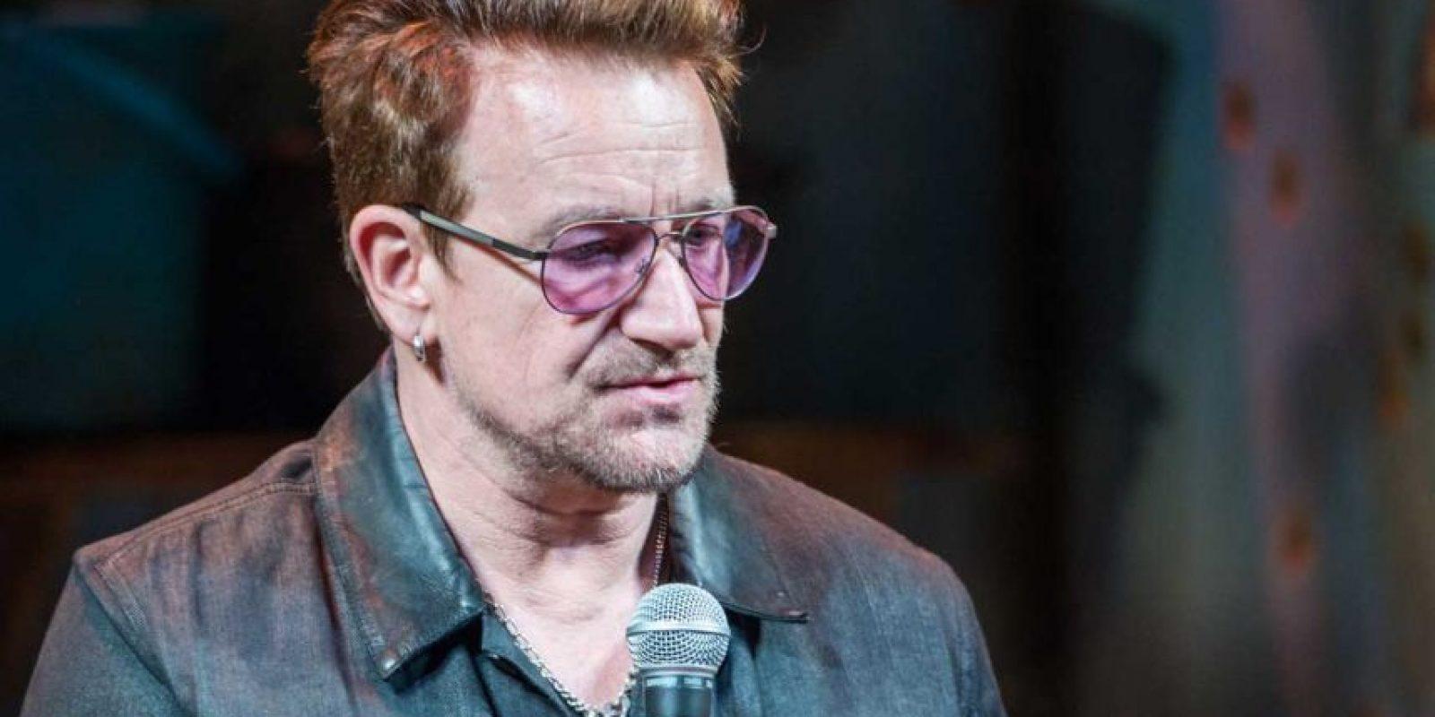 El pasado 14 de julio, Bono de U2, estuvo en Niza. Foto:Getty Images