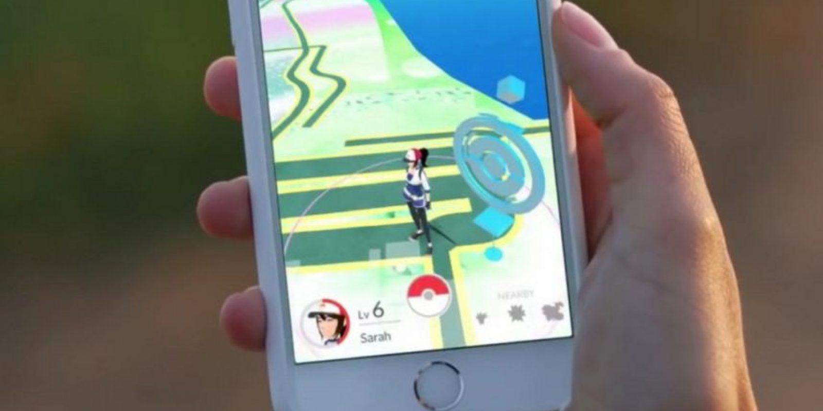 Los Pokémon aparecen según la zona. Es decir, si están en la playa, aparecerán Pokémon tipo agua. Foto:Nintendo