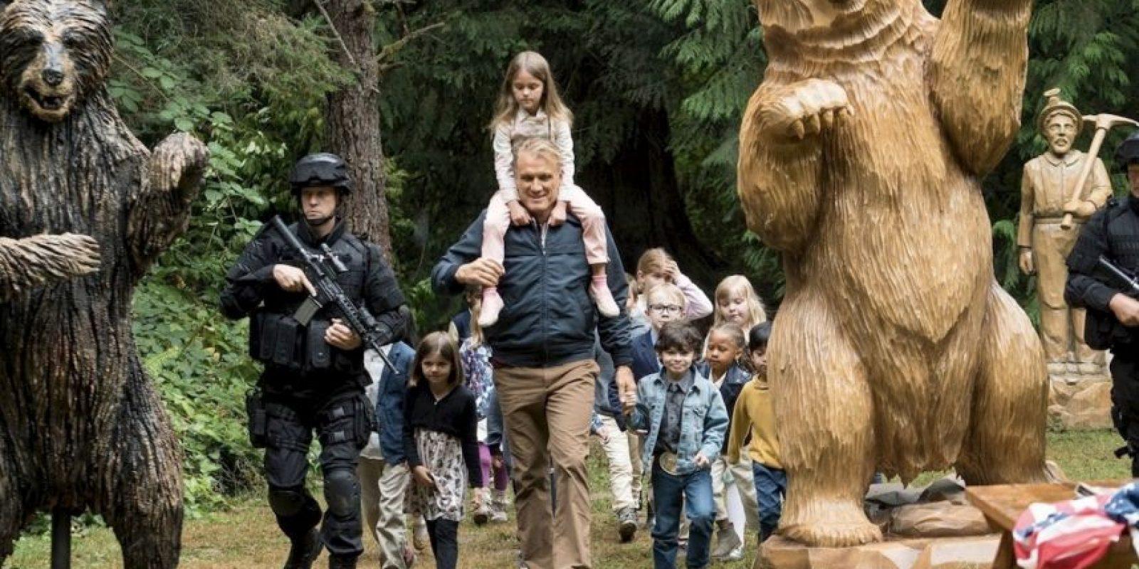 """El actor de acción abandonó su género para incursionar en la comedia """"Kindergarten Cop 2"""" Foto:Cortesía"""