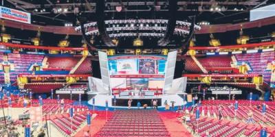 Convención Republicana: Todo listo para la sesión inaugural