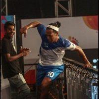 El astro brasileño marcó cinco goles en el triunfo por 7 a 2 del Goa ante Bengaluru Foto:Twitter Premier Futsal