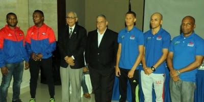 RD presenta su delegación para Juegos Olímpicos 2016