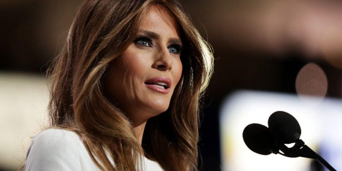 Acusan a esposa de Donald Trump de copiar frases a Michelle Obama