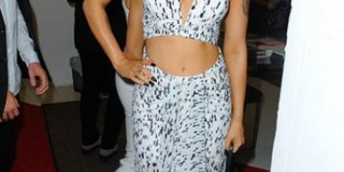 Hija de Demi Moore sorprende luciendo diminuta cintura