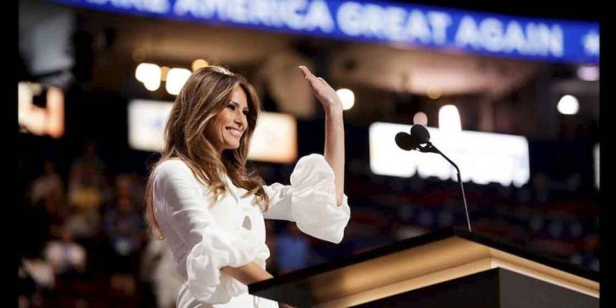 Este video prueba que esposa de Trump le copió a Michelle Obama