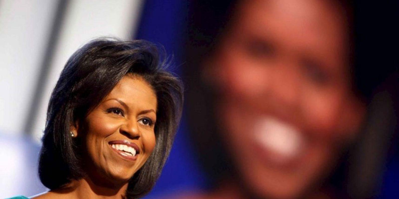 Michelle Obama ofreció un discurso sobre los valores que comparte con Barack Obama en el 2008.