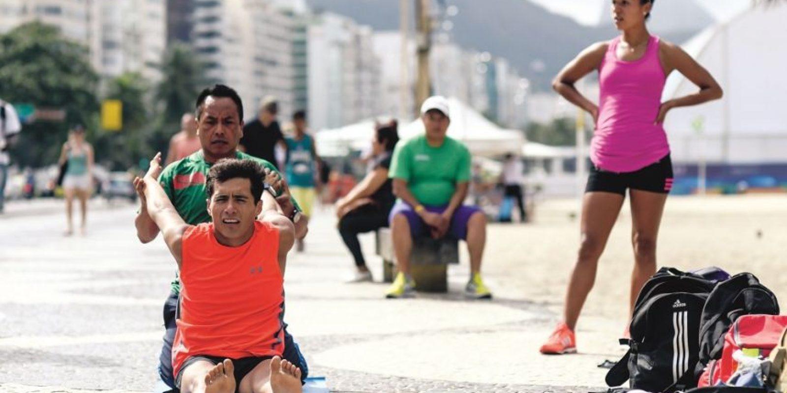 Atletas mexicanos de la marcha olímpica, como Jair Palma, ya se entrenan en la costa: El lugar recibirá pruebas de la modalidad. Foto:Fuente externa