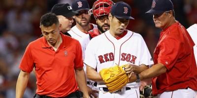 Los Medias Rojas envían a Koji Uehara a la lista de lesionados