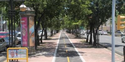 ADN avanza con primeros 600 metros  Circuito de Bicicletas en la Winston Churchill